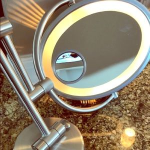 Other - Lighted Wall Mount -  Makeup Mirror